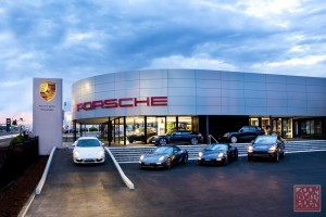 Porsche Commercial Photographer Sydney