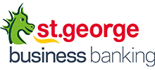 Champagne Star St George Business Banking logo
